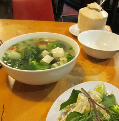 Pho Citi Noodle Soup in LA