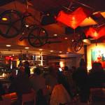 The bar at L'Hostaria in Aspen