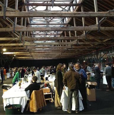 Italian indigenous grape varietals at the Real Wine Fair in London