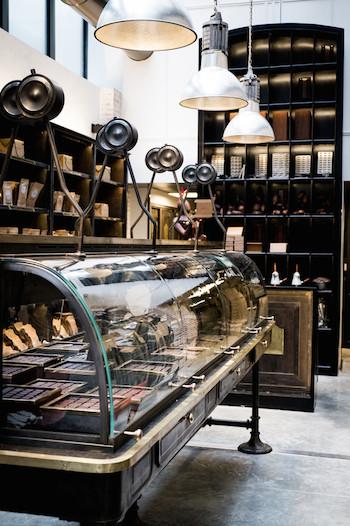 Alain Ducasse chocolate factory