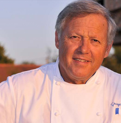 Chef Georges Blanc: keeping the Bresse chicken rolling the high game