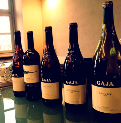 Gaja: producing some of the most expensive wines in Italy