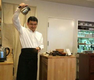 Tokyo tea at Cha Cha No Ma Japanese green tea preparation