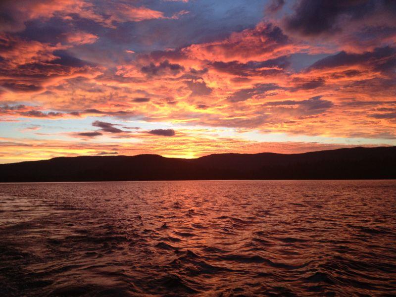 Squam Lake in New Hampshire