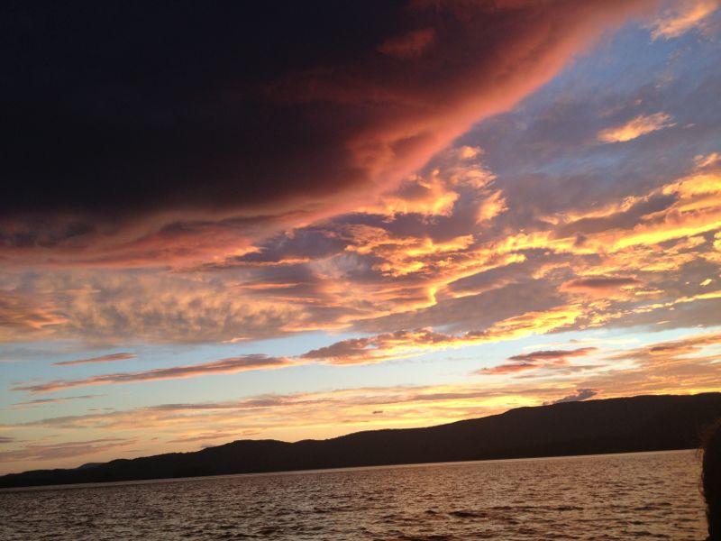 Squam Lake in New Hapmshire