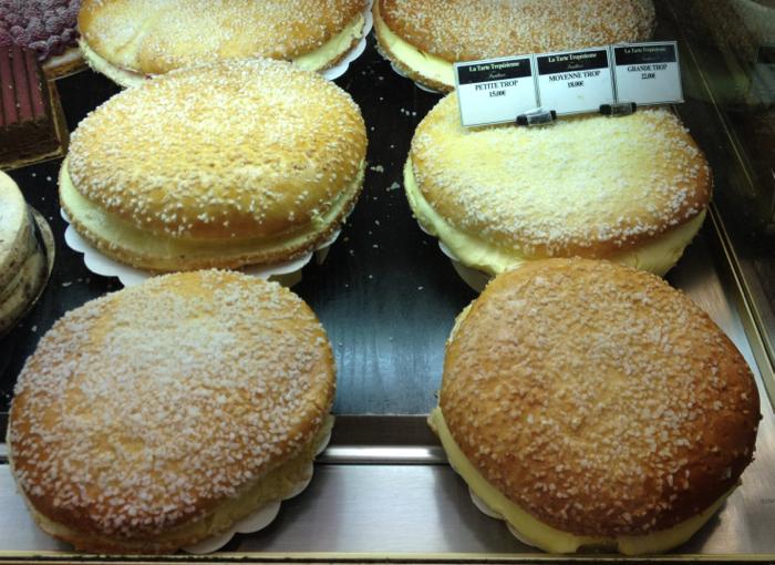cake made in Saint Tropez