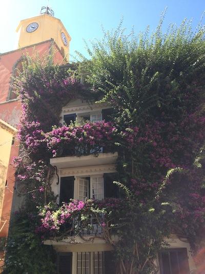 provencal architecture in Saint Tropez