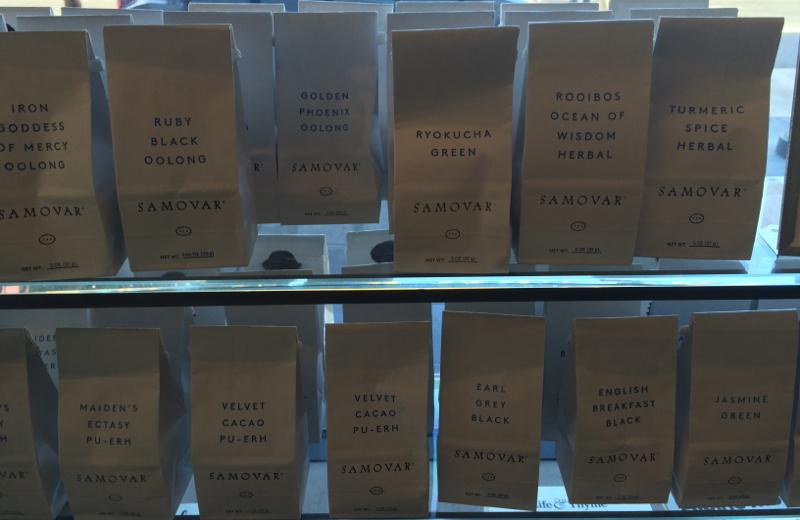 contemporary tea bags