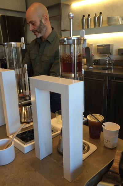 contemporary tea brewing