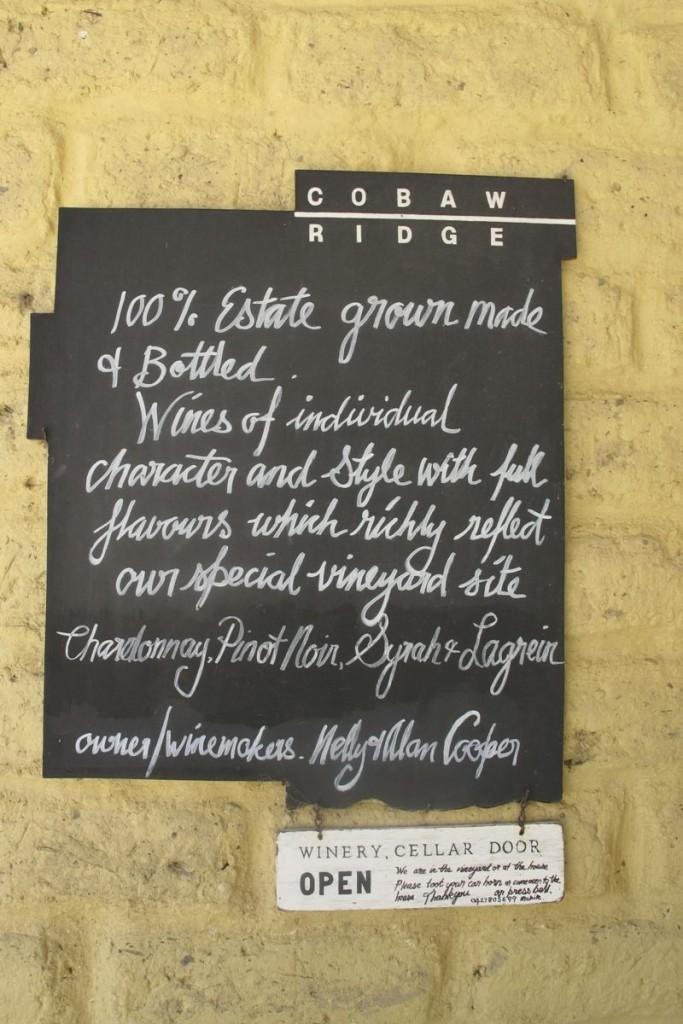 winery in Australia