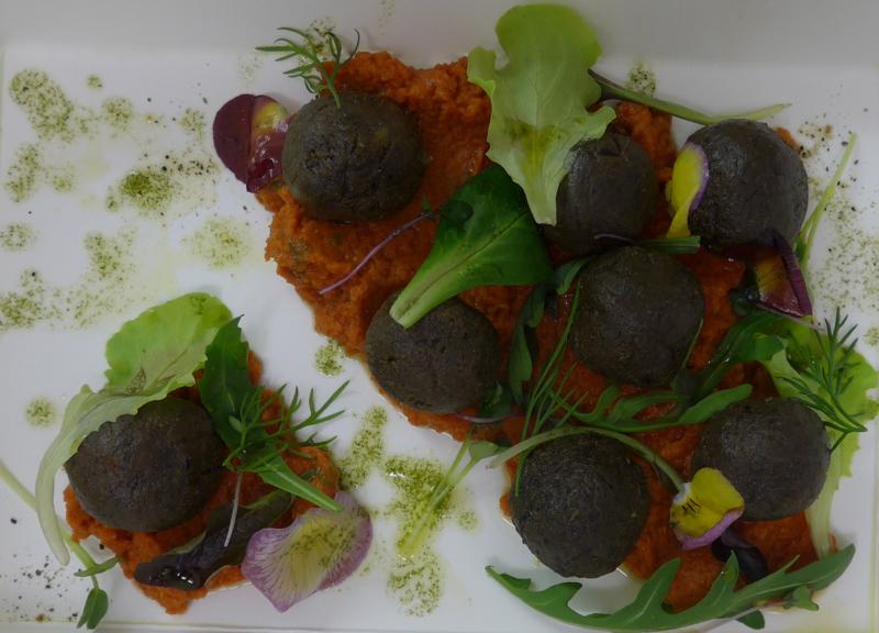 Vegan nut balls