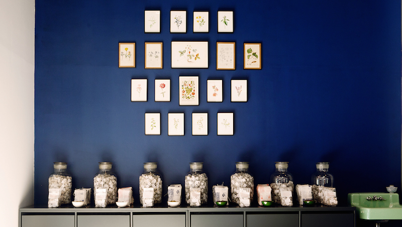 Tea shop in London