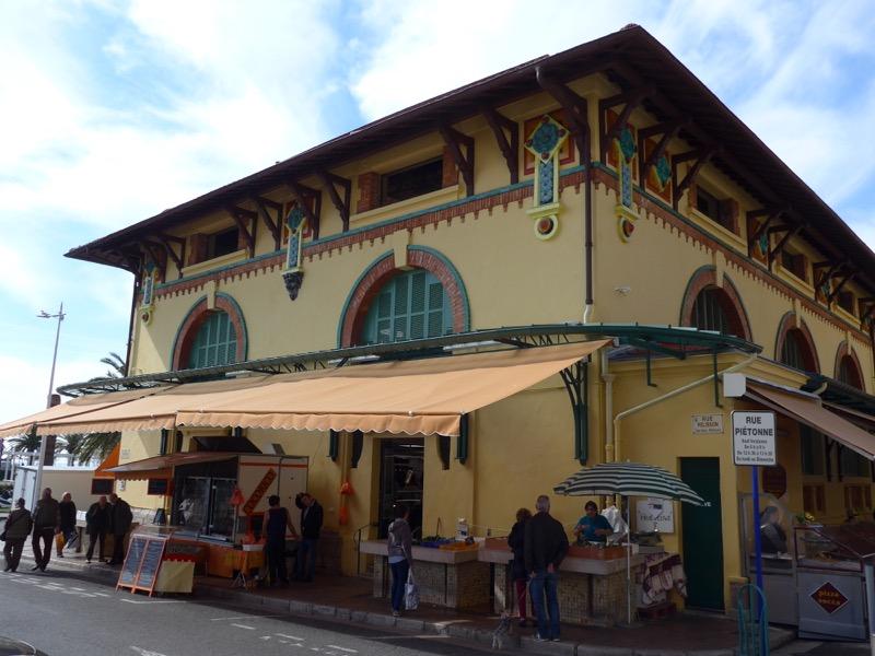 old market in Menton