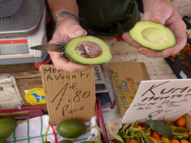 avocado from Menton
