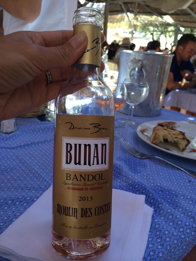 Bandol wine