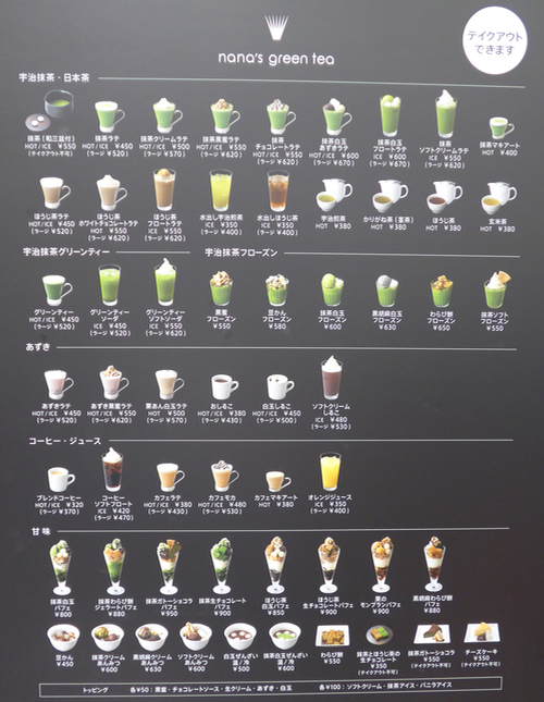 matcha obsession in Tokyo