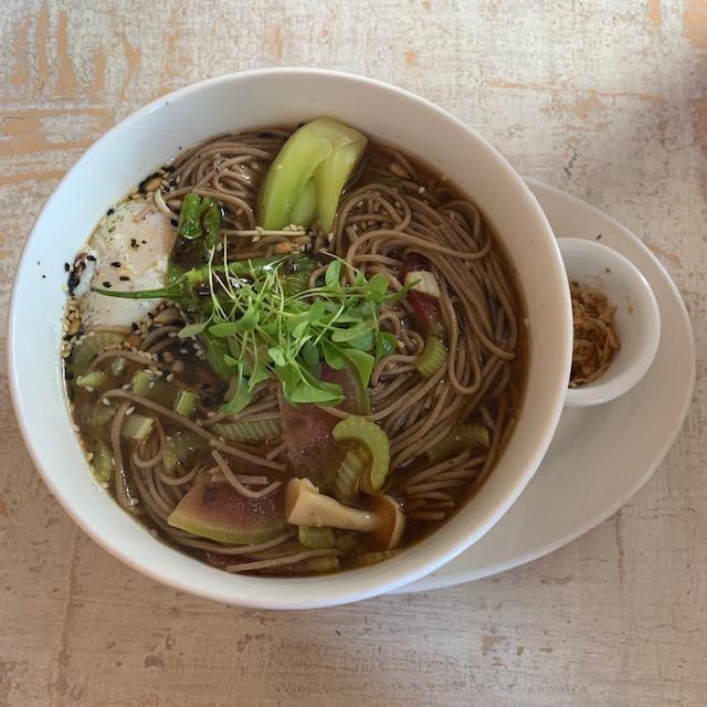 Asian vegetarian bowl