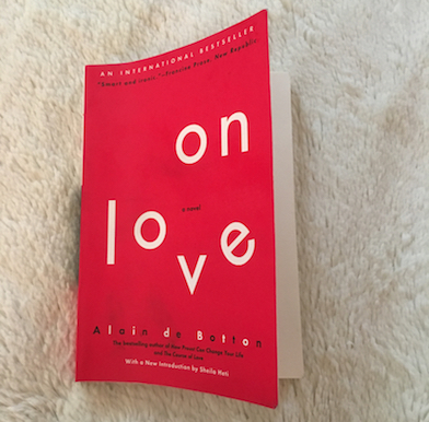 On Love: the hedonia and anhedonia of Alain de Botton in love