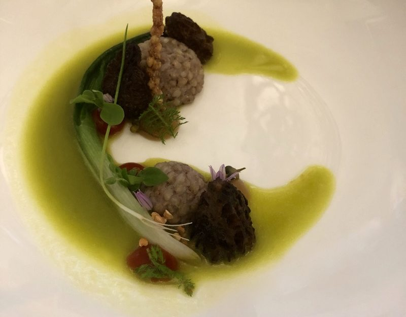 Michelin vegetarian dining