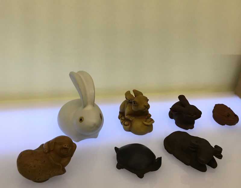 ceramic and clay Chinese charms