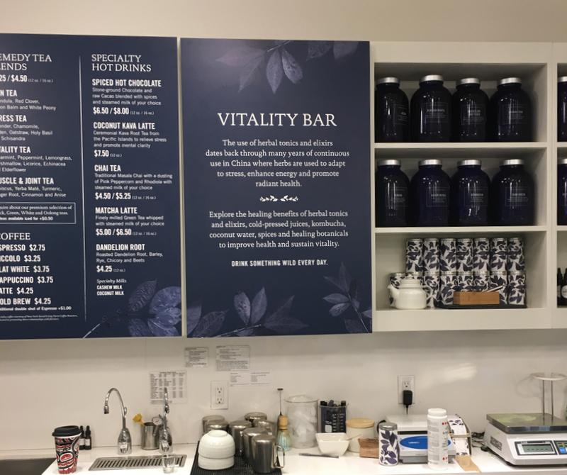 New York tea bar