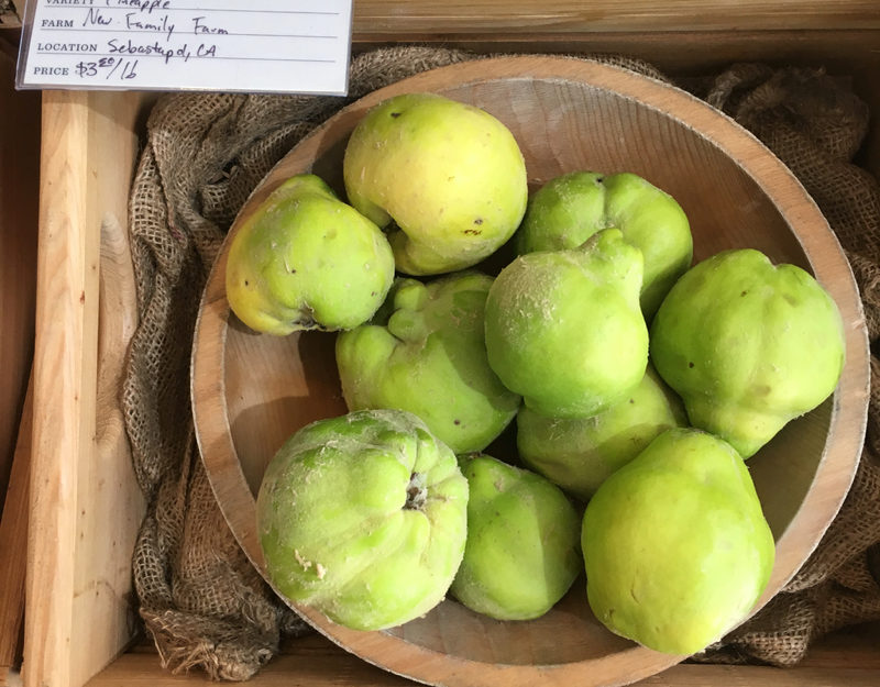 California grown quince