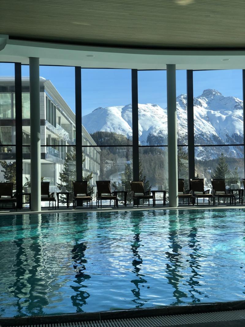 St Moritz luxury