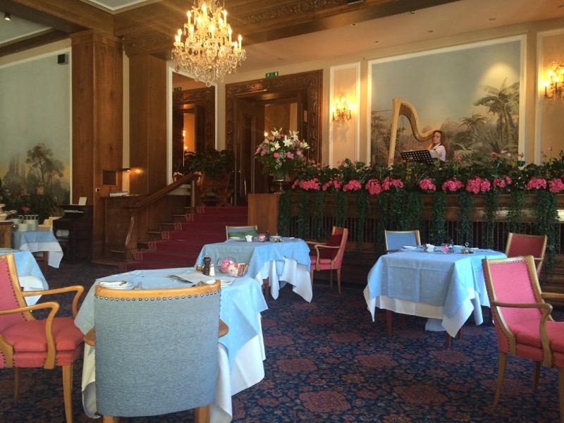 Badrutt's Palace Hotel in St Moritz