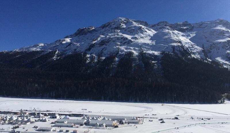 St Moritz lake