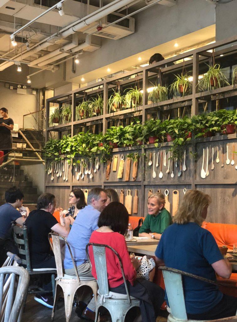 vegan Hong Kong cafe Grassroots Pantry