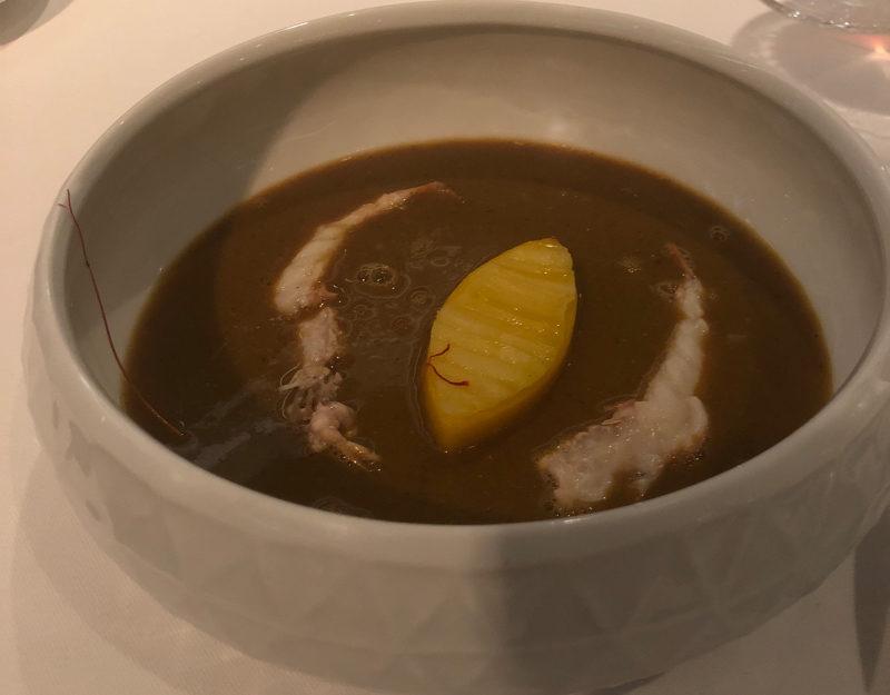 French Bouilleabaisse soup