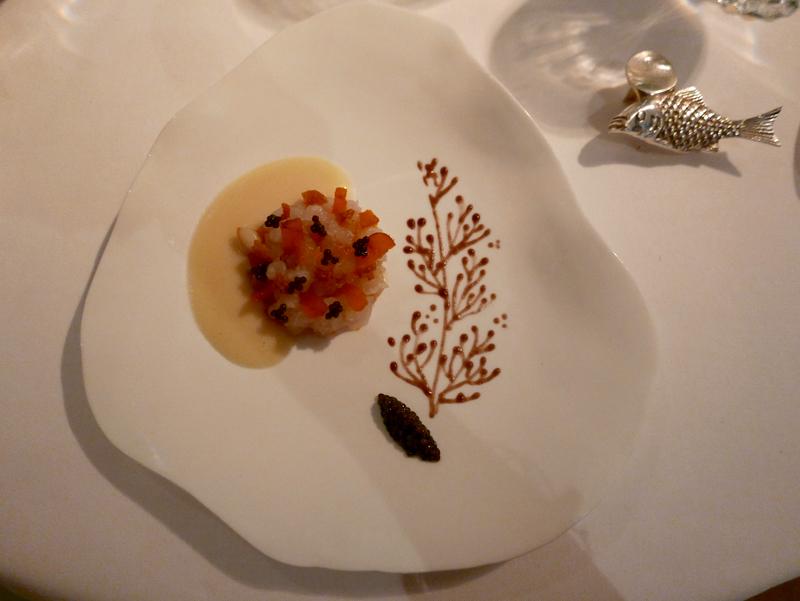 Fish tartare