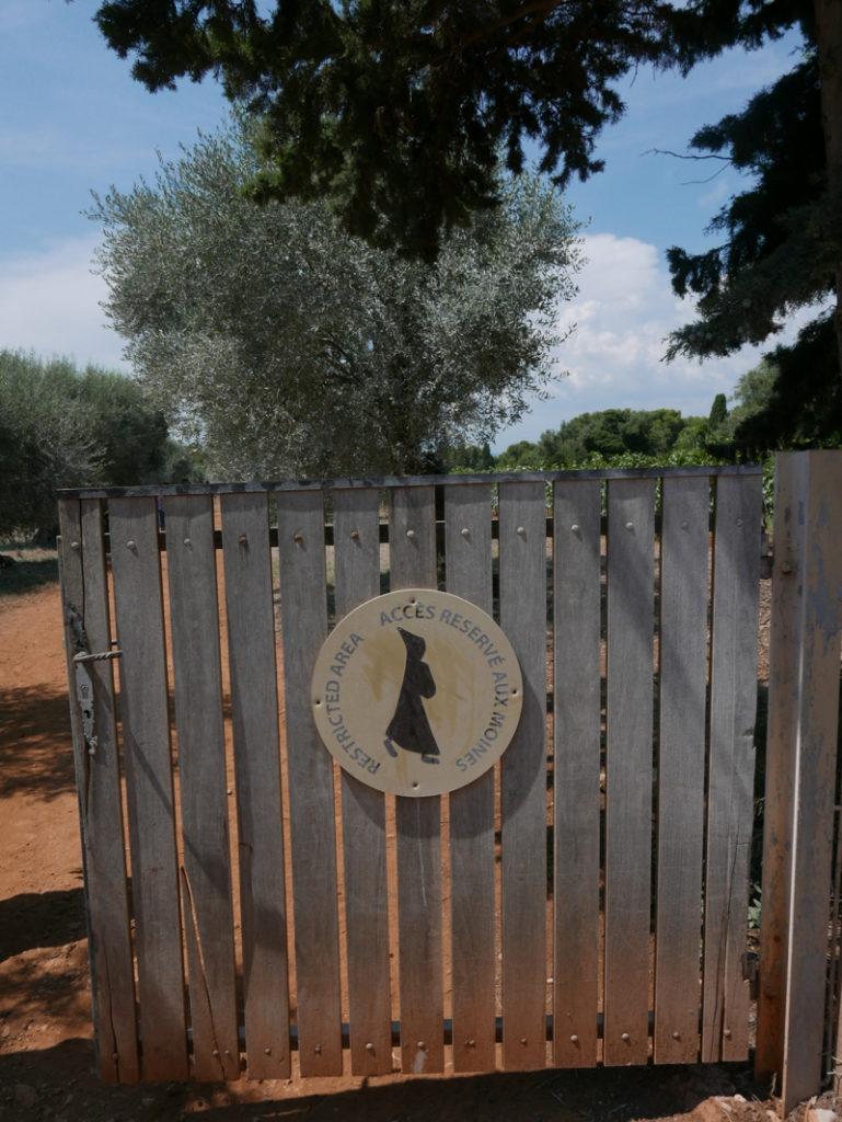 Saint Honorat monastery wine