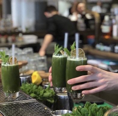 Farmacy: Notting Hill got its plant remedy in a trendy organic bar and cafe