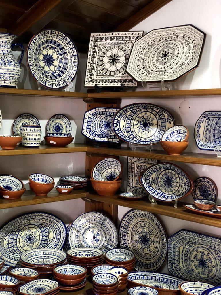 Portuguese craft shop Monsaraz
