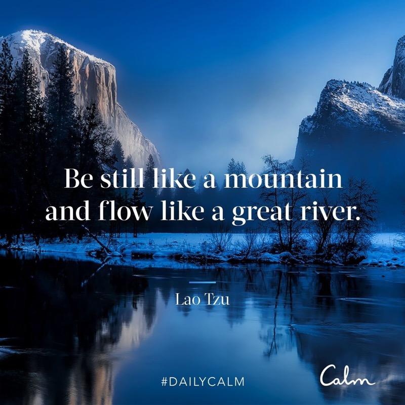 Daily Calm app