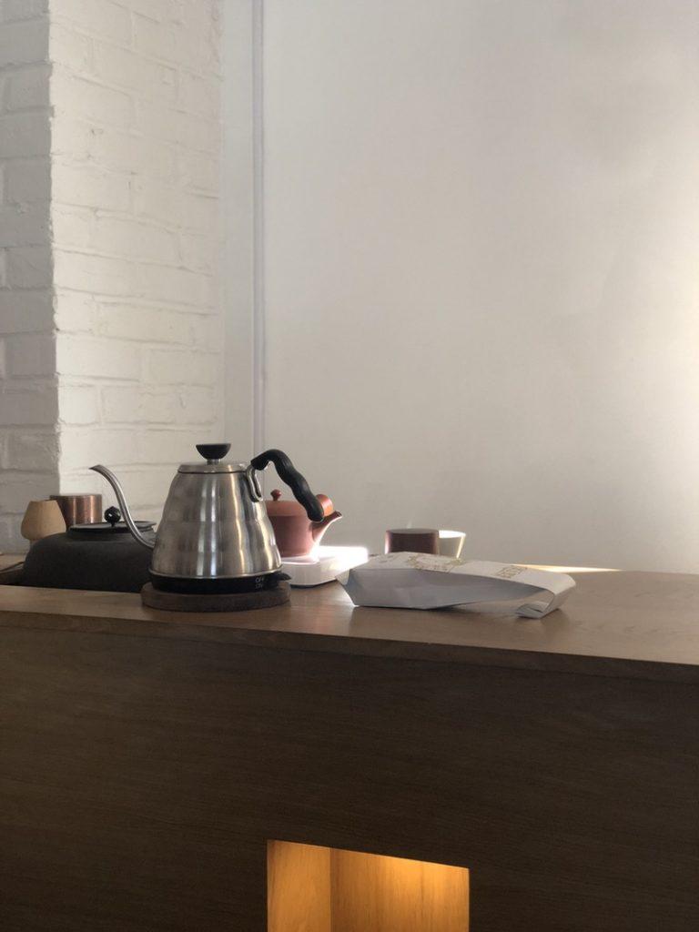 tea room in New York