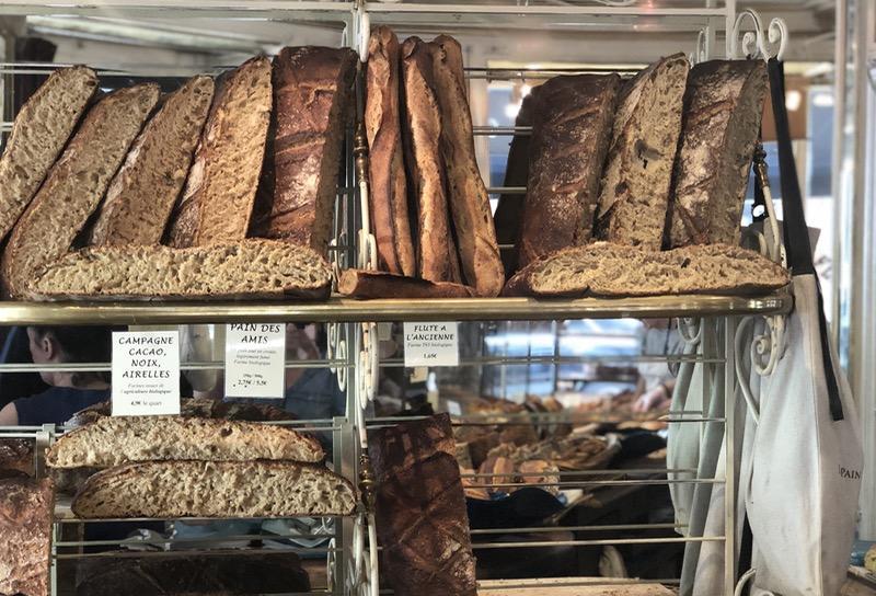 Organic pain au levain