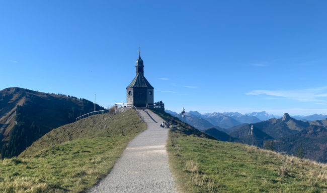 Chapel in the Bavarian Alps