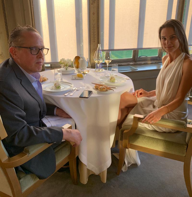 fine dining Paris