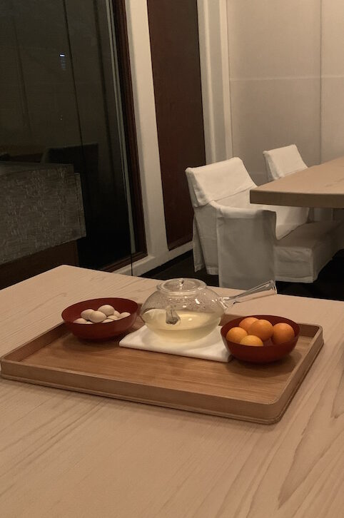 private dining in Tokyo