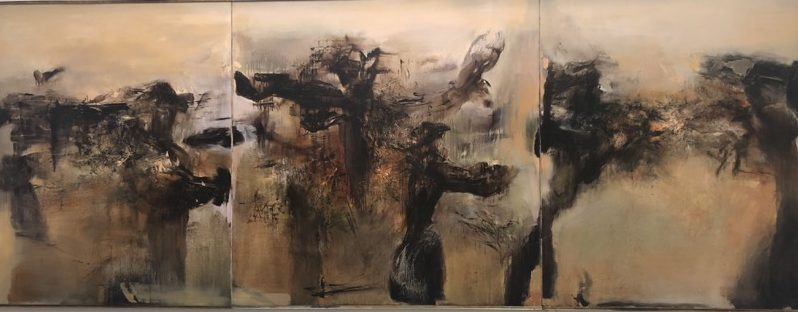Chinse abstract artist