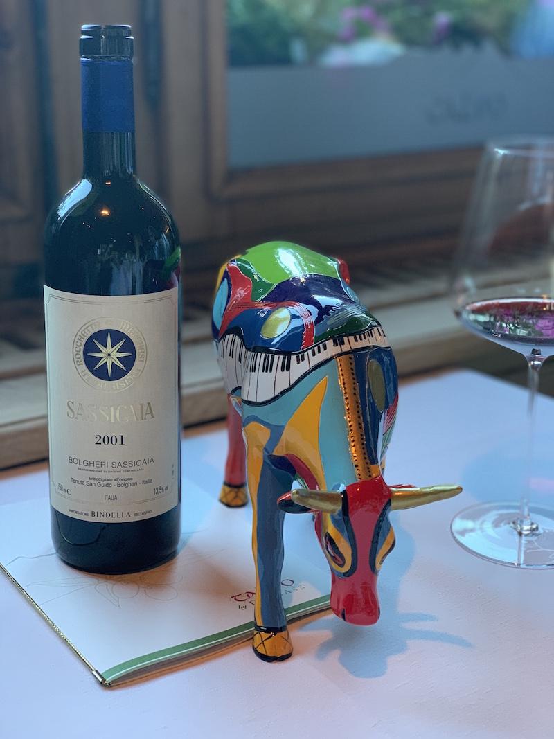 Supertuscan wine