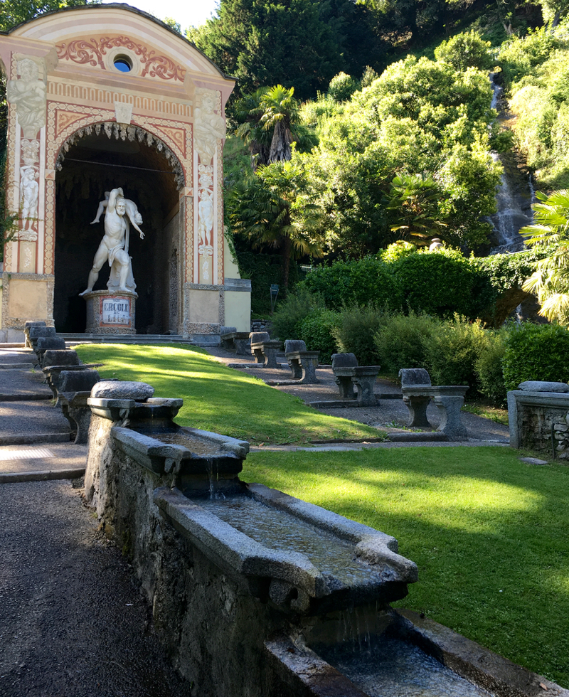 Villa d'Este on Como Lake