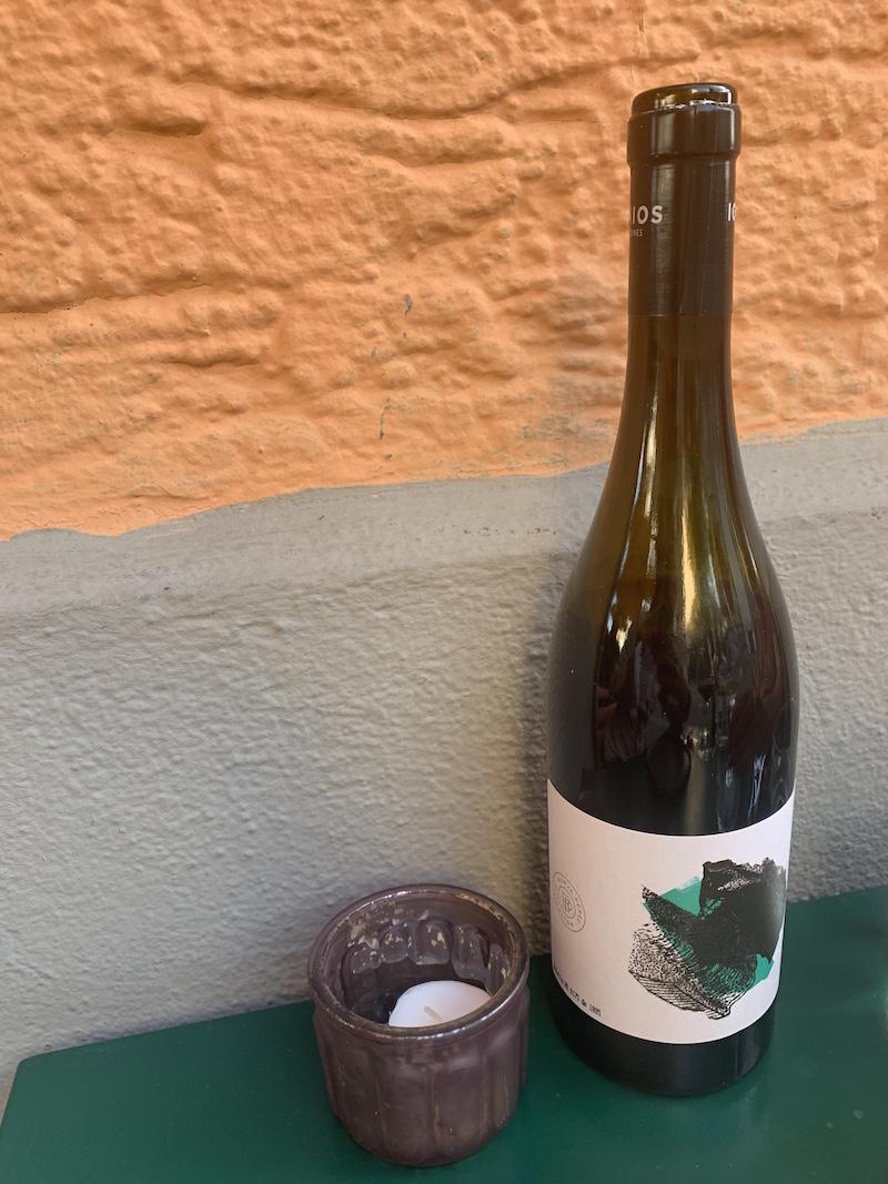 organic Spanish wine