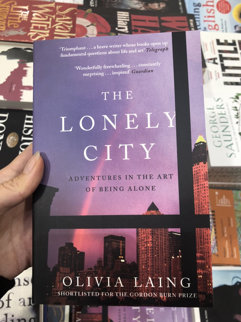 The Lonely City book