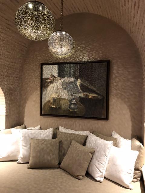 Moroccan house divan